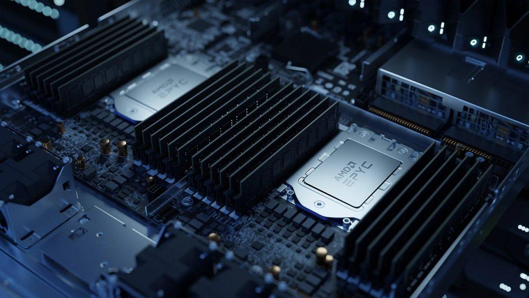 سهم پردازندههای سرور AMD در فصل اول ۲۰۲۱ به ۸.۹ درصد رسید