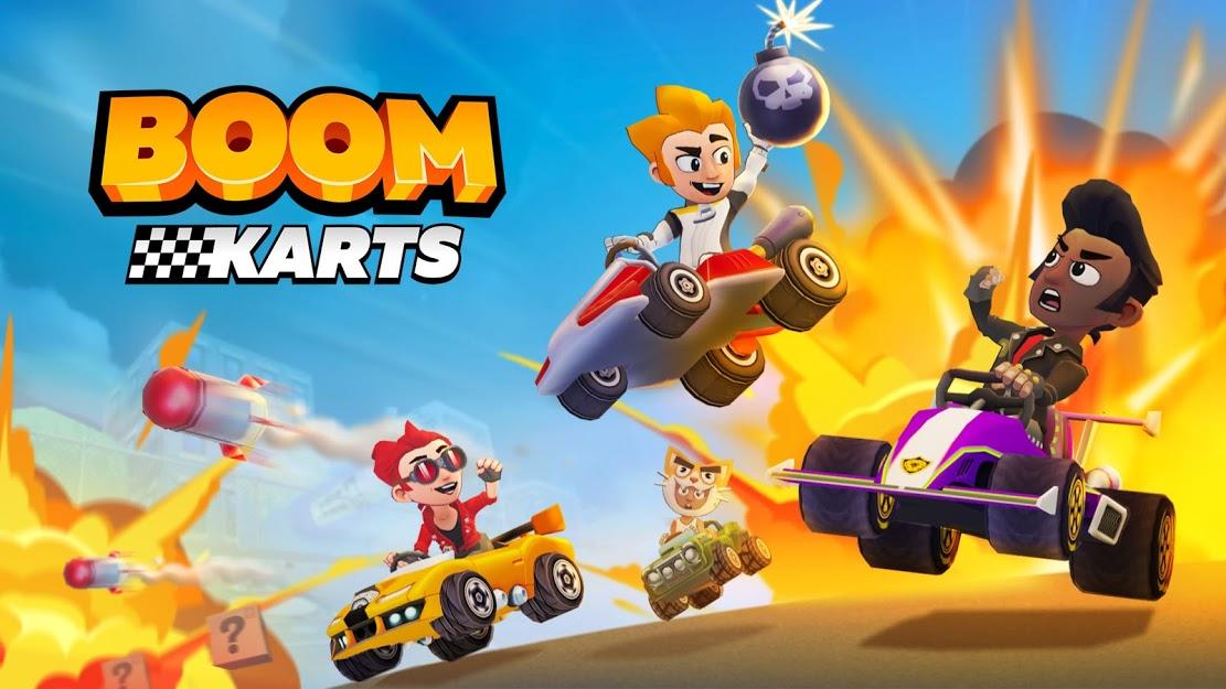 معرفی بازی Boom Karts؛ یک رقابت نفسگیر