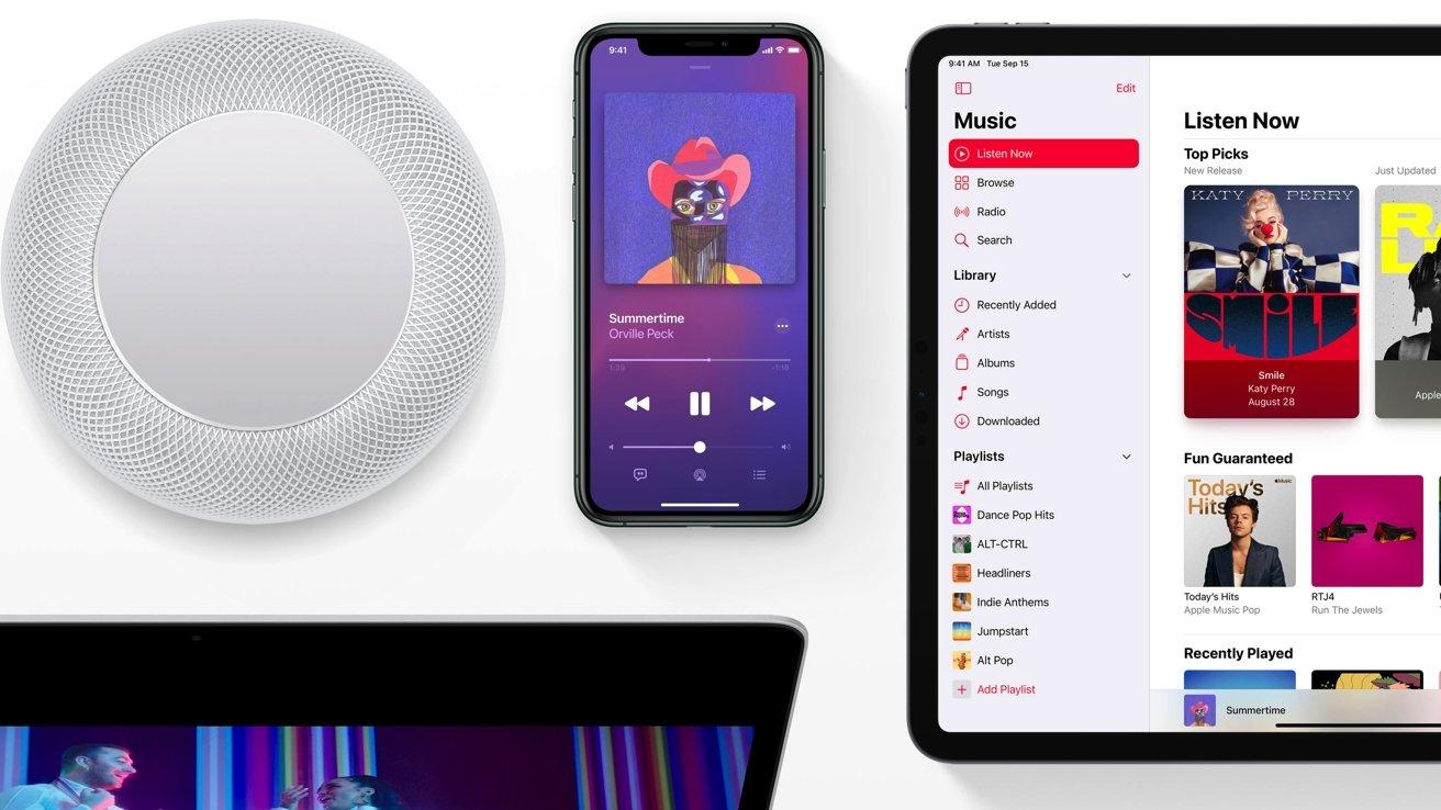 اپل موزیک قابلیت Lossless و صدای فضایی با دالبی اتموس را معرفی کرد
