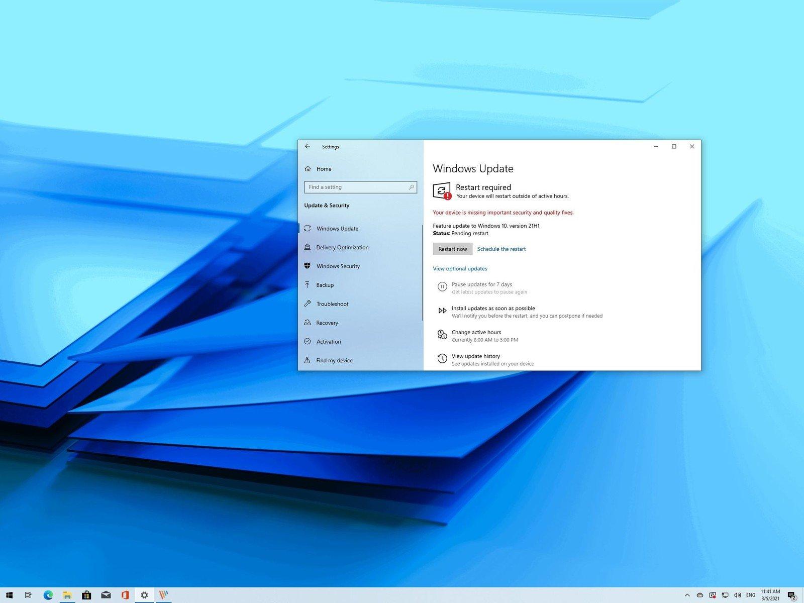 مایکروسافت آپدیت ماه می ویندوز ۱۰ را رسما منتشر کرد