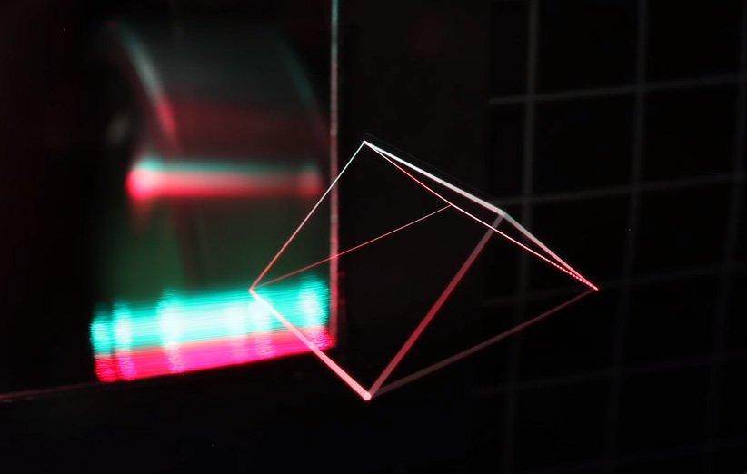 متخصصان هولوگرام تصاویر حقیقی با قابلیت حرکت در هوا تولید کردند