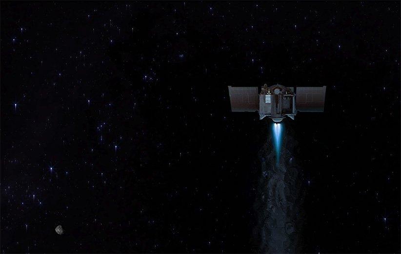 فضاپیمای اسیریس-رکس ناسا با سیارک بنو خداحافظی کرد