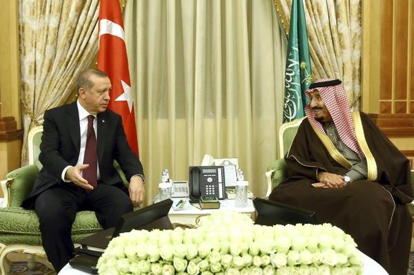 گفتوگوی تلفنی اردوغان و ملک سلمان درباره روابط دوجانبه