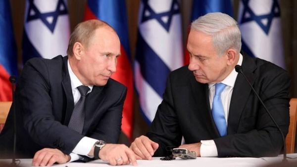 گفتوگوی ولادیمیر پوتین و بنیامین نتانیاهو