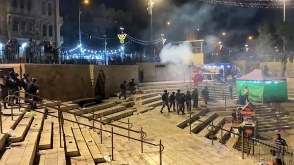 ۸۰ فلسطینی توسط پلیس رژیم صهیونیستی مجروح شدند