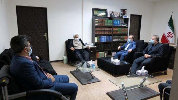 دیدار امام جمعه بندرعباس با مدیرعامل شرکت فولاد هرمزگان