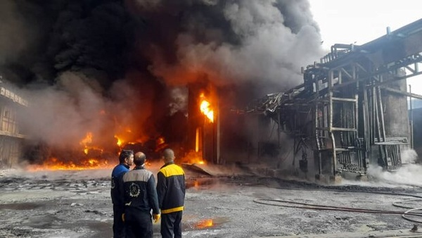 جزئیات مصدومیت ۳ کارگر در انفجار کارخانه اکسیژن پارس