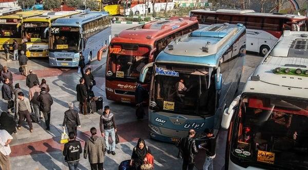ماهانه برای ۱۰۰۰ متقاضی کرونایی بلیت صادر نمیشود/ افزایش ۲۶ درصدی تردد حمل و نقل عمومی در ایام عید فطر/ جادهها شلوغ نبودند