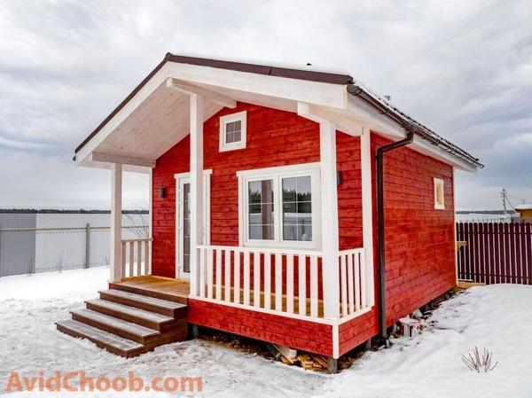 خانه چوبی ؛ دوستدار محیط زیست