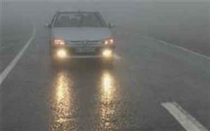 مه گرفتگی در جاده های مازندران