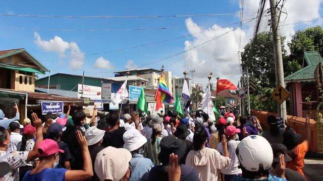 """خونتای میانمار """"دولت اتحاد ملی"""" را گروه تروریستی اعلام کرد"""