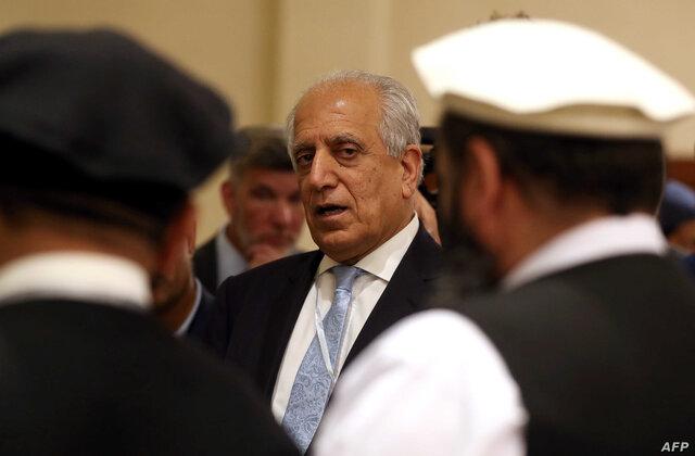 خلیلزاد: اگر طالبان صلح نکند، آمریکا از تداوم دولت فعلی حمایت میکند