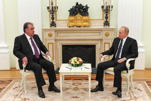 همزمان با افزایش تنشها در افغانستان، پوتین متعهد به حمایت از تاجیکستان شد