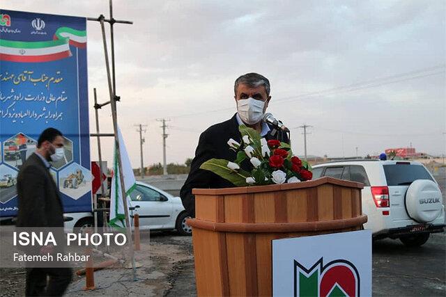 افتتاح طرح های نگهداری راههای یزد با حضور وزیر راه