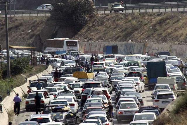 ترافیک سنگین در آخرین روز ممنوعیت سفر !