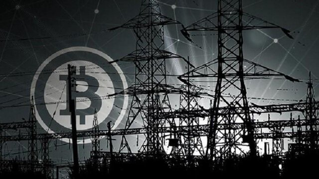 ۱۲۰۰ مگاوات مصرف برق مراکز غیرمجاز تولید رمز ارز