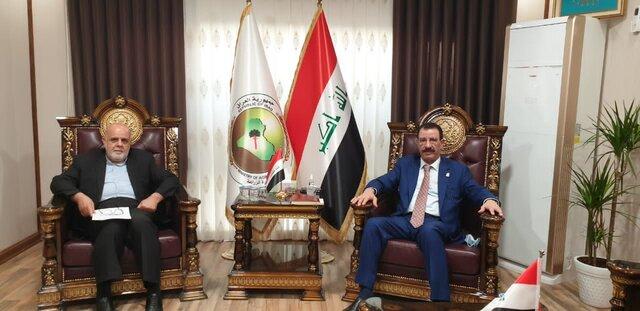 رایزنی سفیر ایران با وزیر کشاورزی عراق