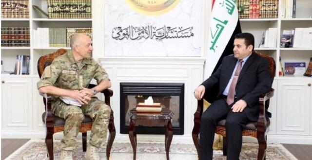فرمانده هیئت ناتو در دیدار با الاعرجی ماهیت فعالیت این نیروها در عراق را توضیح داد