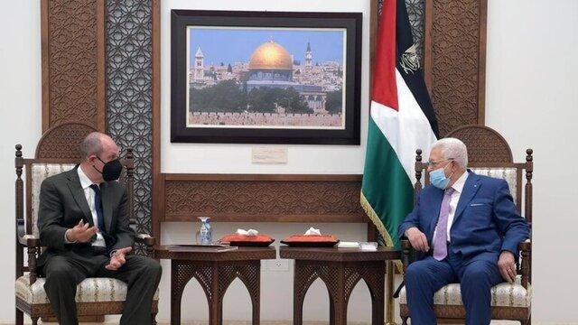 عباس بر مداخله آمریکا تاکید کرد/ تماس مرکل با نتانیاهو/ دیدار سیسی و ماکرون درباره غزه