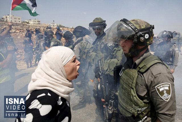 ویدئو / درد اشغال و زخم موشک بر تن فلسطین