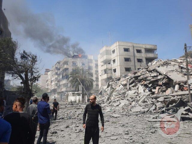 حملات مقاومت به تلآویو و شهرکهای اطراف غزه در پی حملات توپخانهای صهیونیستها