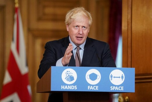 موضعگیری جانسون درباره بدهی انگلیس به ایران