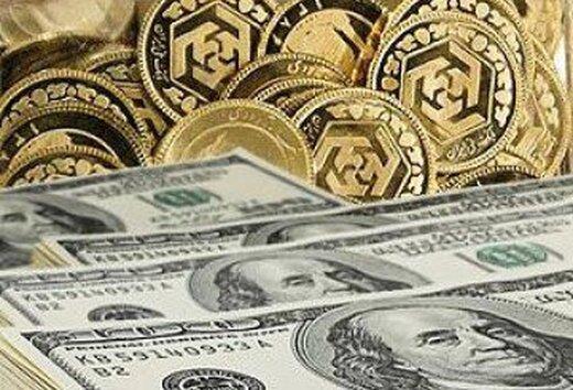 قیمت سکه، طلا و ارز 1400.02.14 /  تثبیت نرخ ارز و سکه در بازار