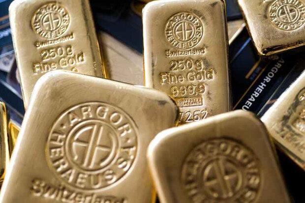 بالا ماندن نرخ دلار قیمت جهانی طلا را پایین آورد