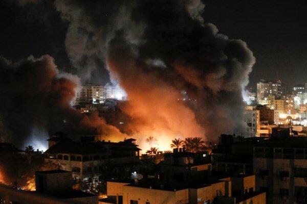حمله هوایی رژیم اشغالگر قدس به جنوب نوار غزه
