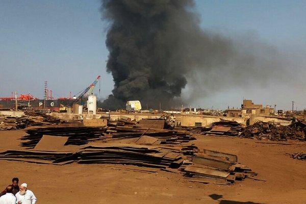 انفجار در یک نفتکش در بندر «بانیاس» سوریه