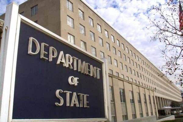وزارت خارجه آمریکا حمله راکتی به اراضی اشغالی را محکوم کرد!