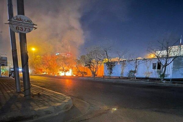 آتش زدن کنسولگری ایران در کربلا، عراق را میدان جنگ نیابتی می کند