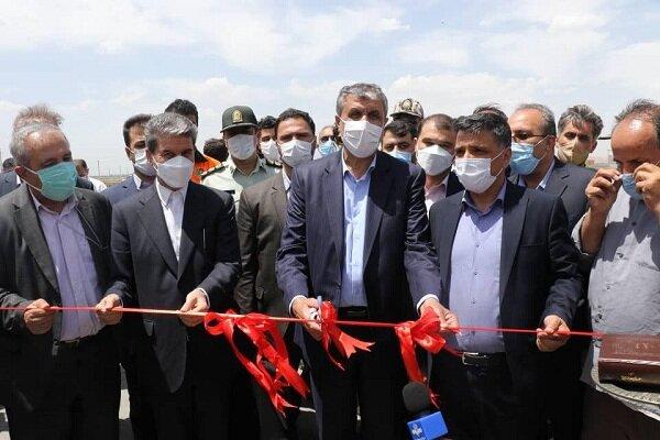 افتتاح ۱۰۳ کیلومتر از کریدور بزرگراهی غرب کشور در آذربایجانغربی