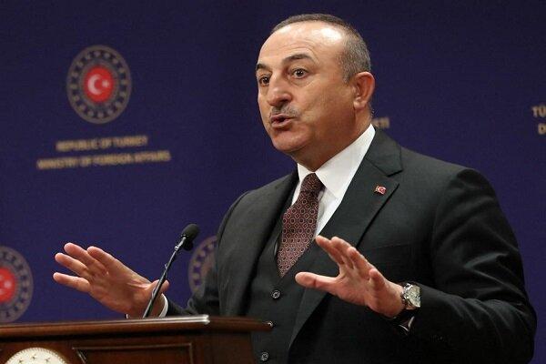وزرای خارجه ترکیه و انگلیس درباره تحولات فلسطین اشغالی گفتگوکردند