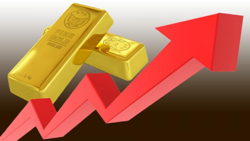صعود قیمت طلا به بالا ترین سطح 10 هفته اخیر/ طلای جهانی 1800 دلار شد