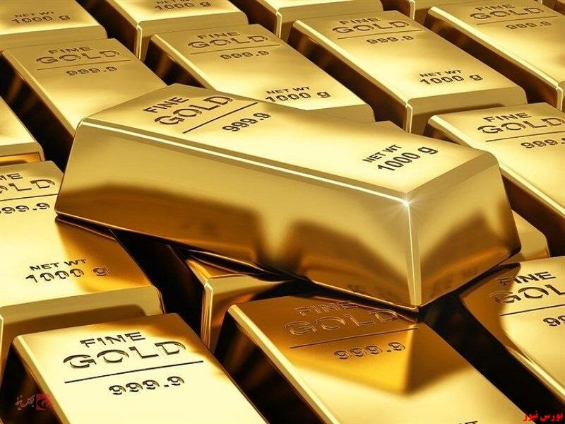 کاهش قیمت طلا تحت تاثیر دلار