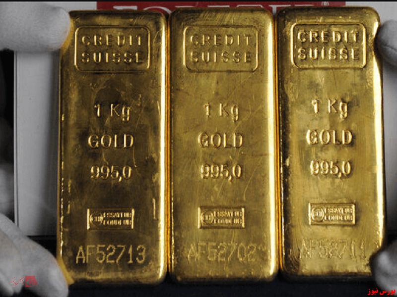 افزایش قیمت طلا پس از افت ۶ درصدی