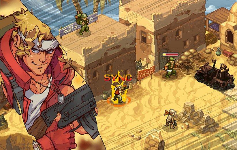 بازی تاکتیکی متال اسلاگ برای کامپیوتر معرفی شد؛ بازگشت هیجان!