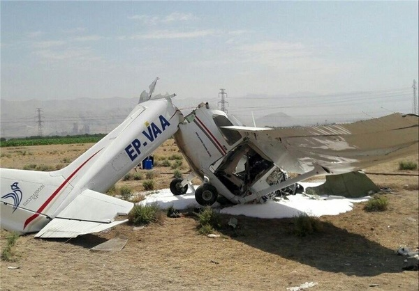 هواپیمای آموزشی پس از تعلیق؛ دوباره مجوز پرواز گرفت و سقوط کرد