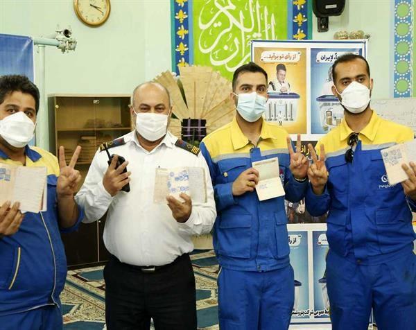مشارکت کارکنان پتروشمی امیرکبیر در انتخابات ۱۴۰۰
