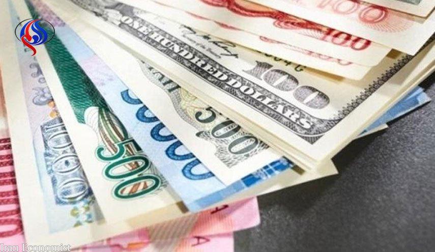 نرخ رسمی ارزها در 2 تیرماه