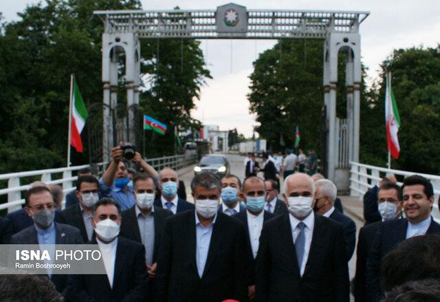 بازدید مقامات ایران و آذربایجان از زیرساخت های حمل و نقل آستارا