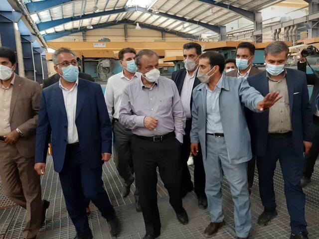 """افتتاح کارخانه کنسانتره مس """"سرگز"""" جیرفت با سرمایه گذاری ۳۵۰۰ میلیارد ریال"""