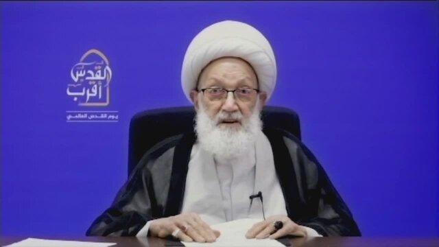هشدار رهبر شیعیان بحرین به آل خلیفه درباره اوضاع جسمانی زندانی سیاسی