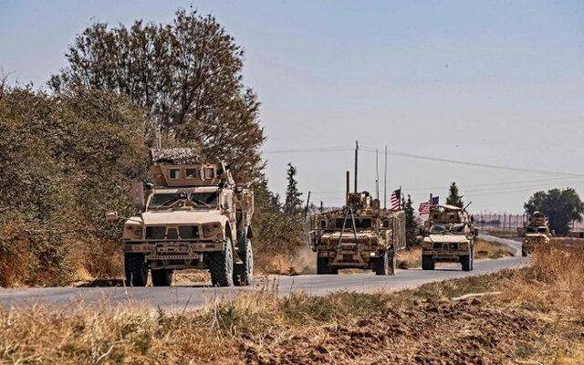 گشتزنی آمریکاییها در مرزهای عراق و سوریه