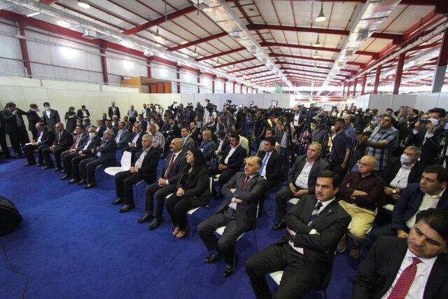 افتتاح دومین نمایشگاه بازرگانی اختصاصی ایران در سلیمانیه