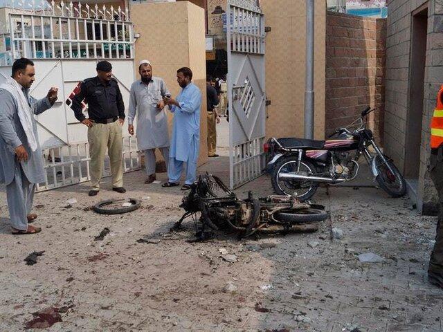 سه کشته و ۲۶ زخمی در انفجار لاهور پاکستان