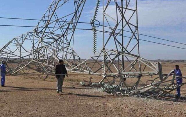 عراق برای حفاظت از دکلهای برق در برابر عملیاتهای تروریستی پهپاد استفاده میکند