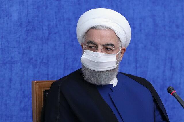 روحانی: ۹۵ درصد مردم کشور از شبکه گازرسانی استفاده می کنند