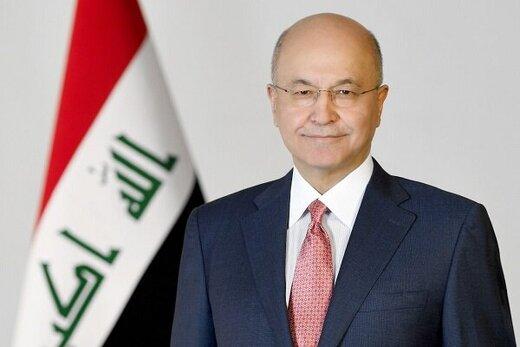 صالح: عراق با همبستگی ارتش، الحشد الشعبی و پیشمرگه تروریسم را شکست داد